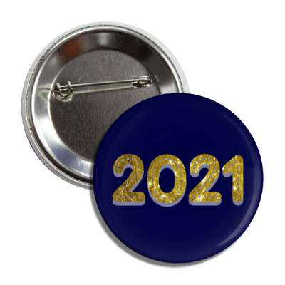 2021 gold blue button