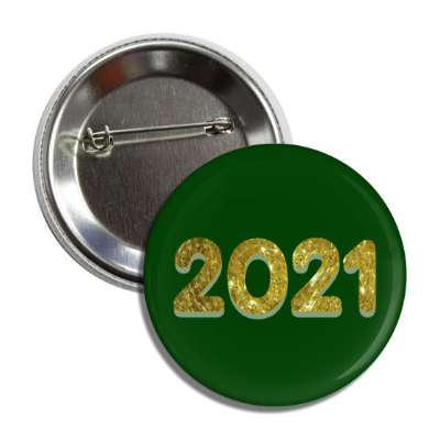 2021 gold green button