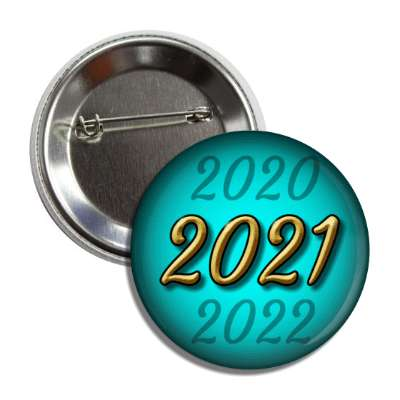 2021 new year aqua button