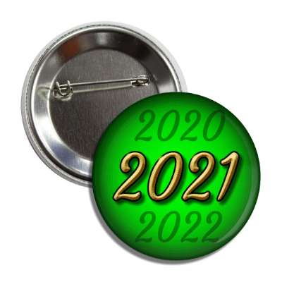 2021 new year green button