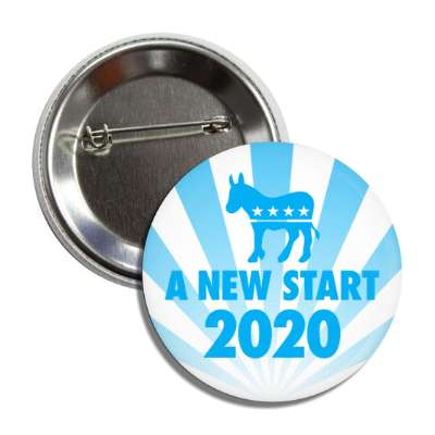 a new start democrat republican rays blue button