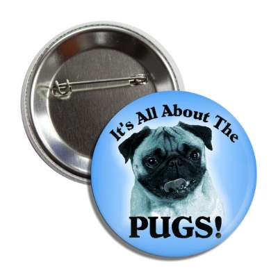all about the pugs button