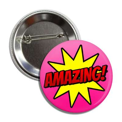amazing student motivation burst pink button