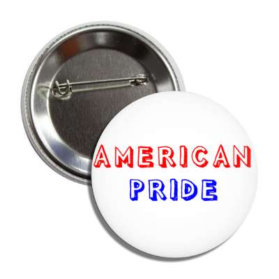 american pride shadow red blue button