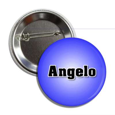 angelo male name blue button