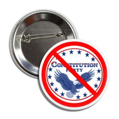anti constitution party eagle red slash button