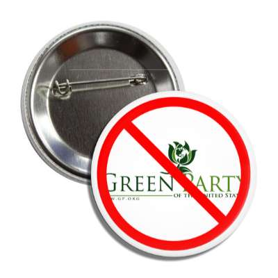 anti green party red slash button