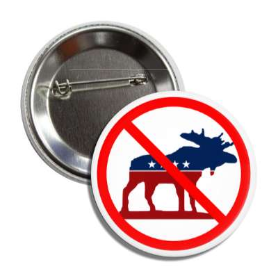anti progressive party red slash button