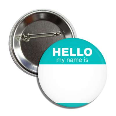 aqua hello my name is button