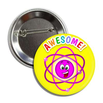 awesome smiley atom button