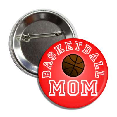 basketball mom red button