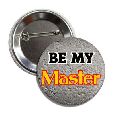 be my master textured wall button