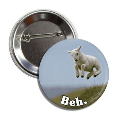 beh jumping lamb button