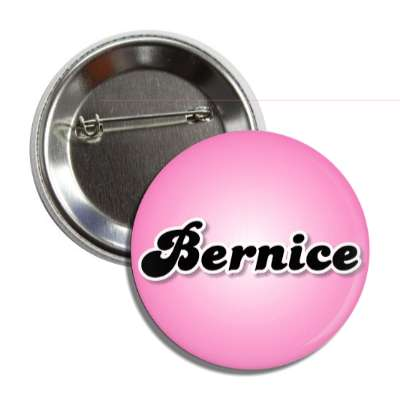 bernice female name pink button