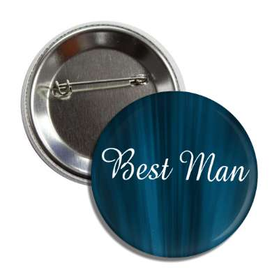 best man blue curtain button