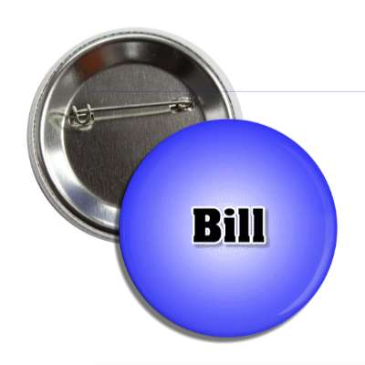 bill male name blue button