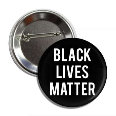 black lives matter blm button