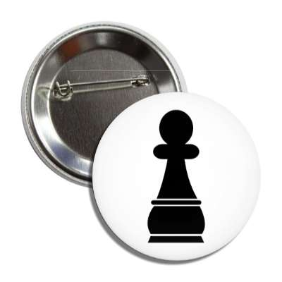black pawn chess piece button