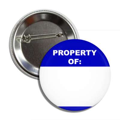 blue property of button