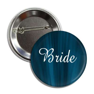 bride blue curtains button