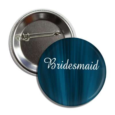 bridesmaid blue curtains button