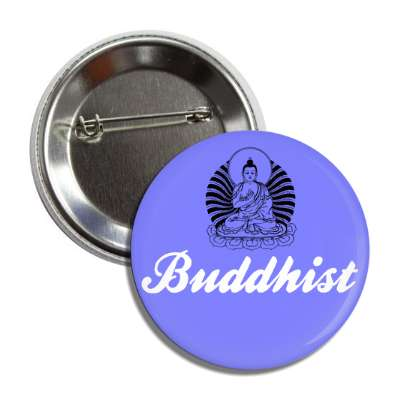 buddhist blue button