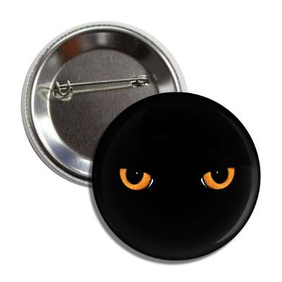 cat eyes black button