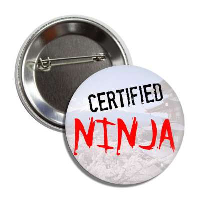 certified ninja button