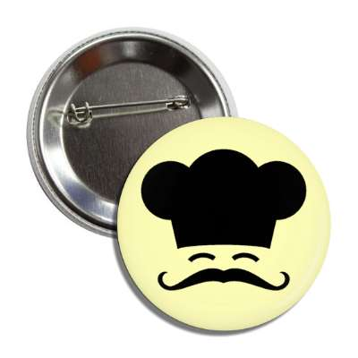 chef black creme button