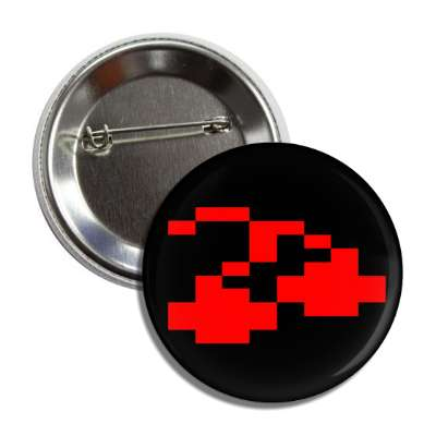 cherries 8bit button