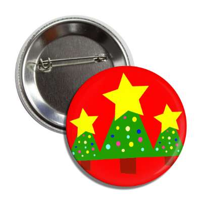 christmas tree stars red button