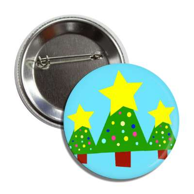 christmas trees button