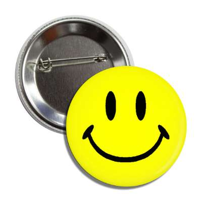 classic smiley button