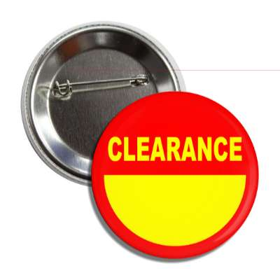 clearance  pricetag button