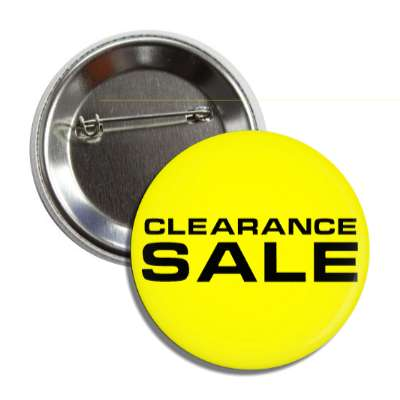 clearance sale pricetag button
