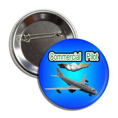 commercial pilot jet button
