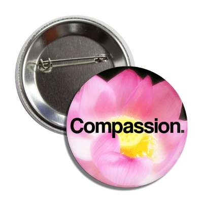 compassion blossom button