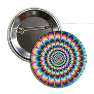 crazy rainbow zoom wild illusion button