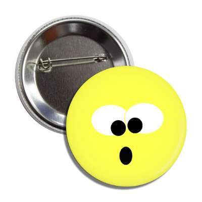 crossed eyes open mouth button