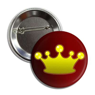 crown royalty red gradient yellow button