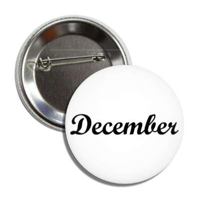december winter twelfth month year button