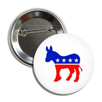 democrat party button