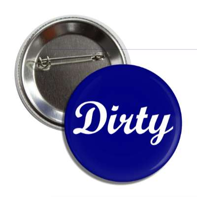 dirty dishwasher blue button