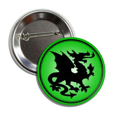 dragon green gradient black button
