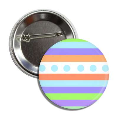 easter egg design lines dots bright multi button