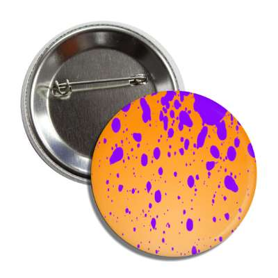 easter egg design speckled colors orange purple button