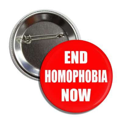 end homophobia now red button