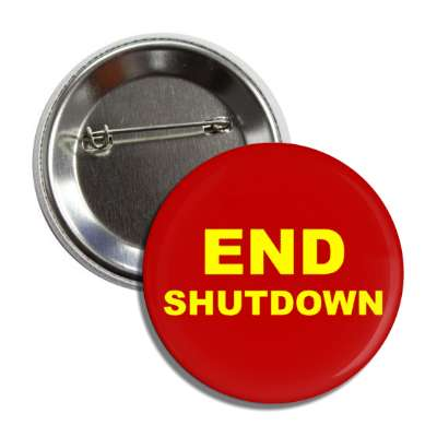 end shutdown deep red button
