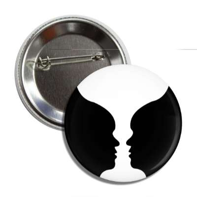 face cup silhouette button