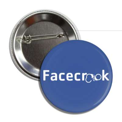 facecrook handcuffs button